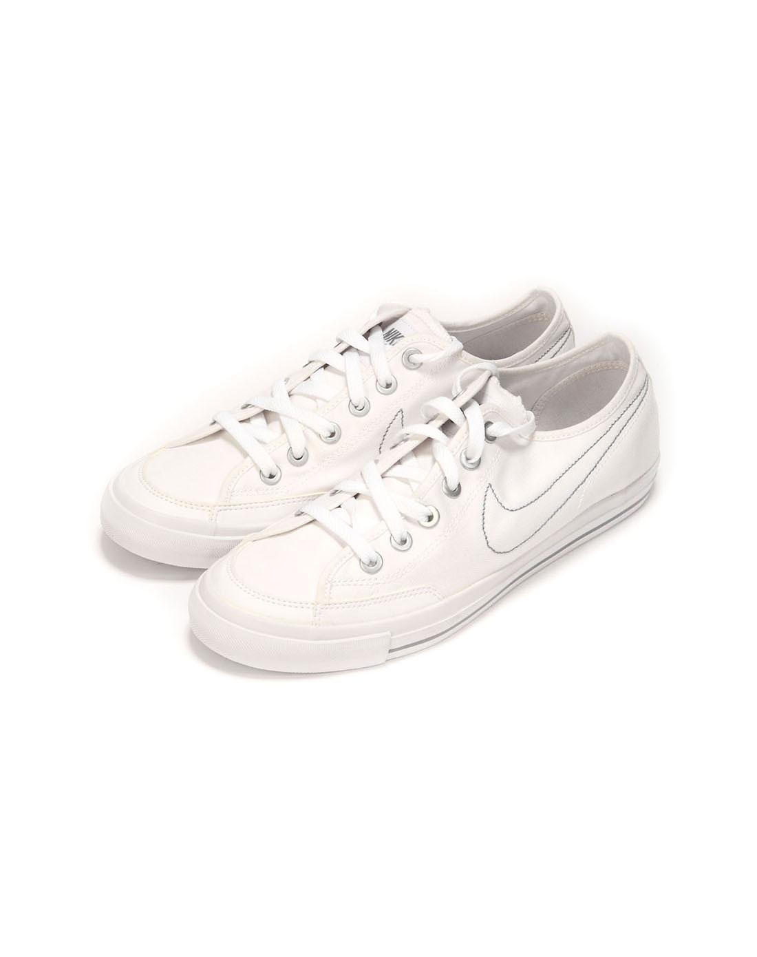 耐克nike男子白色复古鞋437530-100