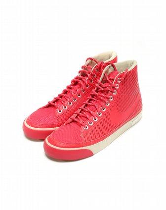 耐克nike女子红色复古鞋375573-607
