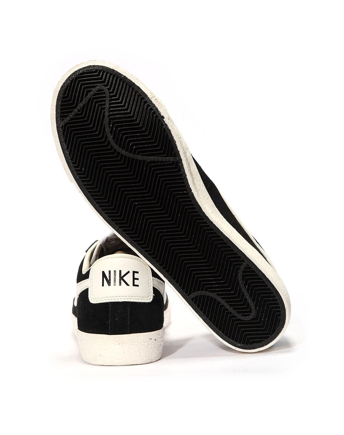 耐克nike男子黑色复古鞋488060-001
