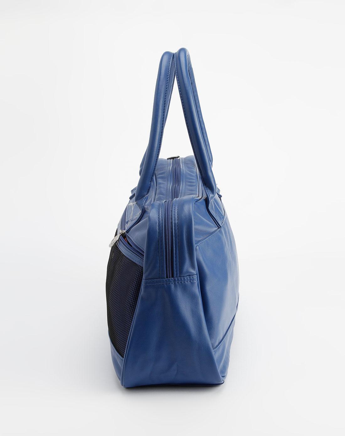 彪马puma-紫蓝色时尚手提包
