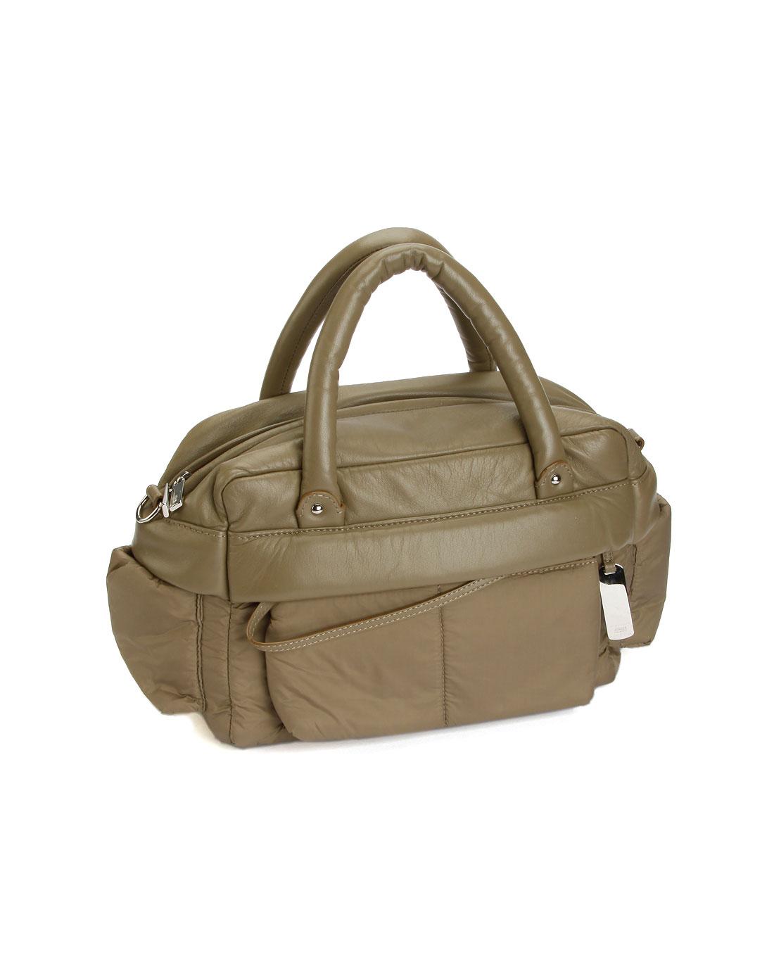armani女款灰绿色休闲手提包armani-110