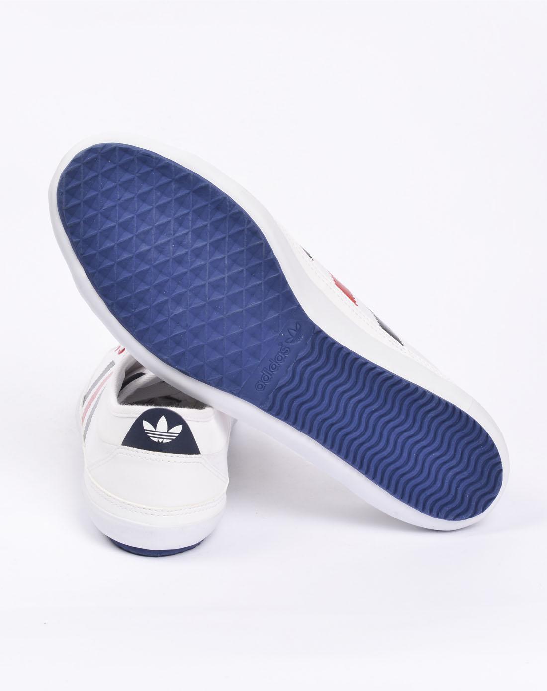 阿迪达斯adidas男女鞋男子白色复古鞋g50855