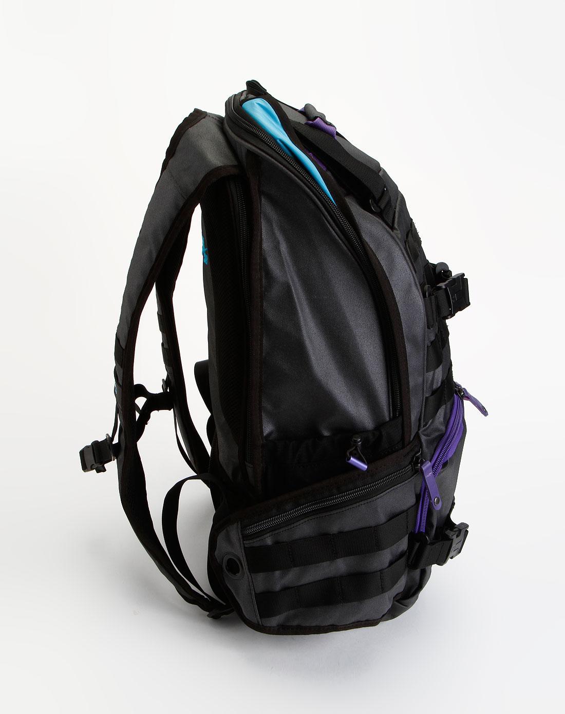 耐克nike-包包中性黑色时尚休闲背包