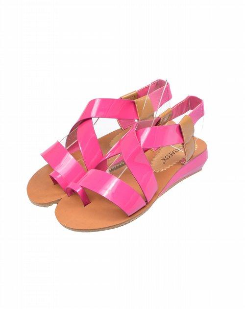 foxyafox女鞋专场低跟平底凉鞋