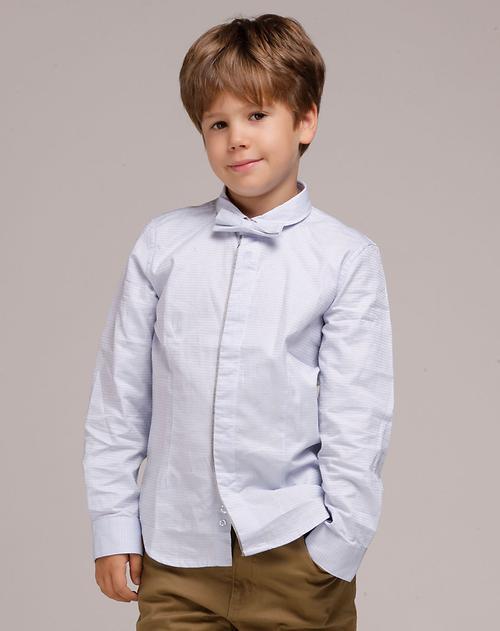 马骑顿mqd男童装专场男童浅蓝礼服衬衫